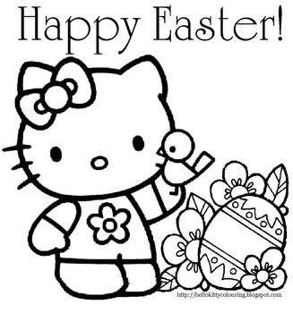 327x350 Printable Easter Coloring Pages