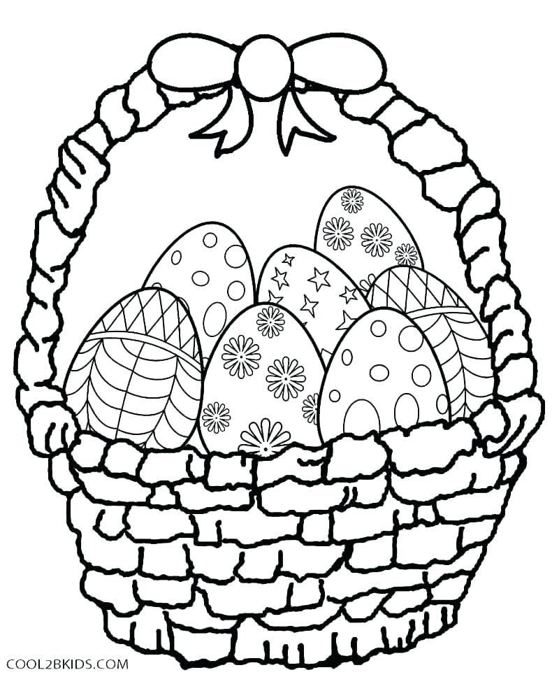 800x968 Easter Coloring Book Pages Deepart
