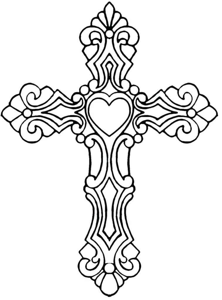 757x1024 Cross Coloring Pages Love Me Cross Coloring Page Cross Coloring