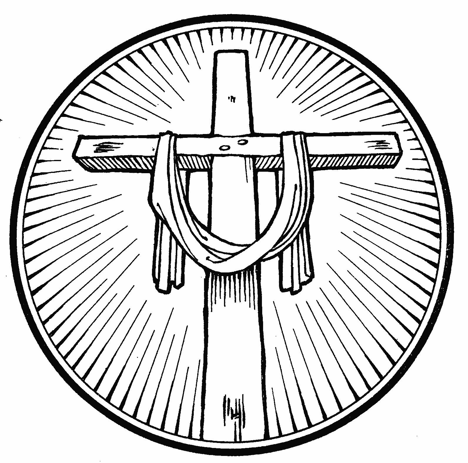 1592x1572 Cross Coloring Pages Zuckett
