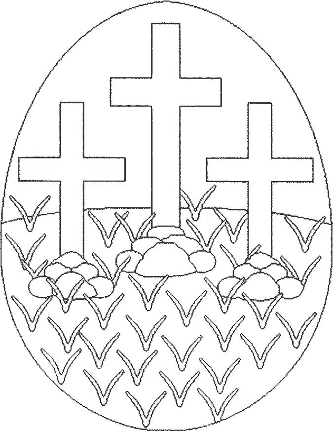 675x873 Easter Cross Coloring Pages Religious Coloring Pages To Print New
