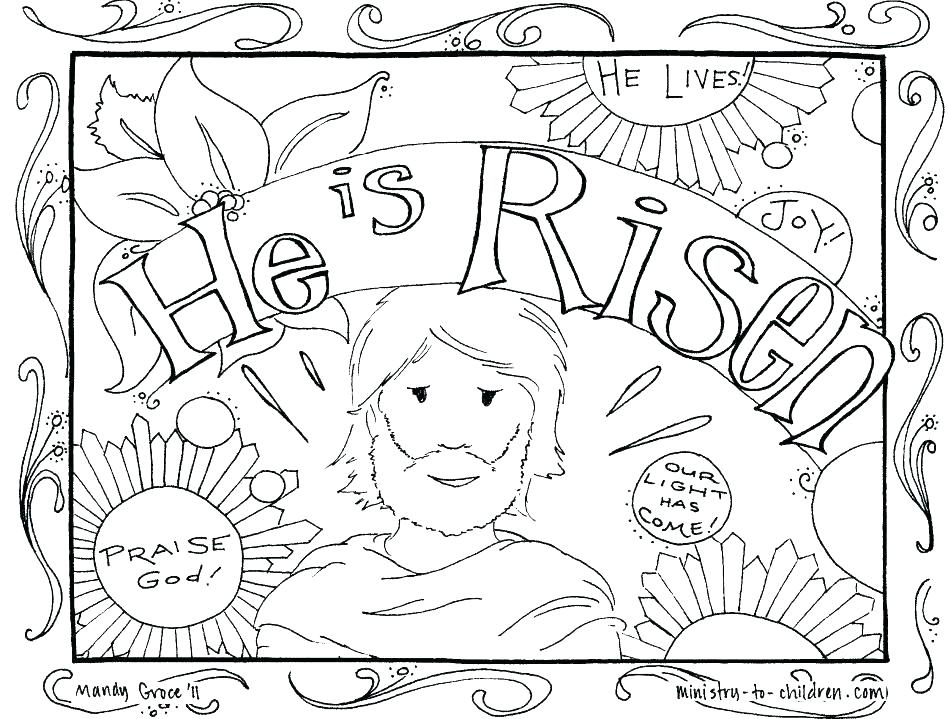 948x719 Cross Coloring Pages To Print