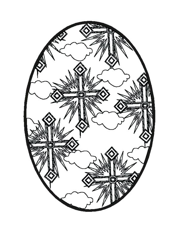 600x777 Coloring Pages For Easter Egg Cross Coloring Pages Coloring Pages