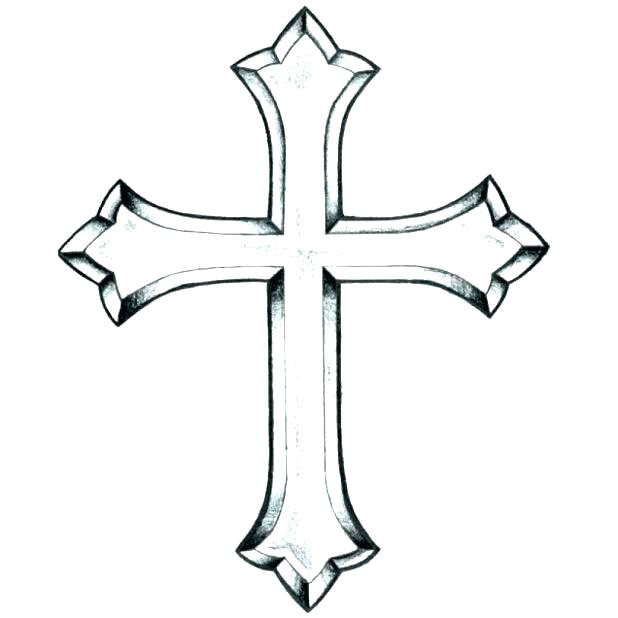 618x618 Cross Color Pages Coloring Pages Of Crosses Cool And Opulent