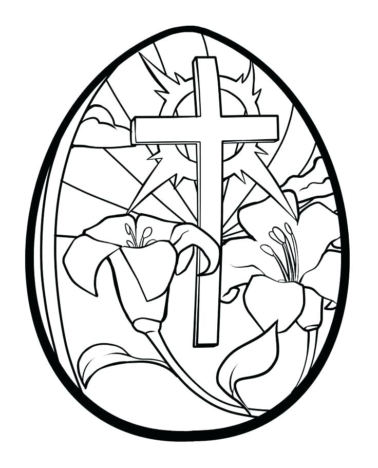 736x911 Easter Cross Coloring Page Clothed Cross Coloring Page Easter