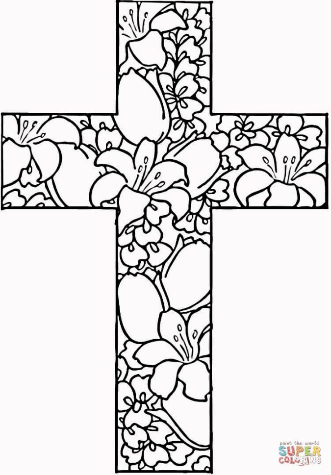675x969 Christian Easter Coloring Pages Picture Cool Projects To Try