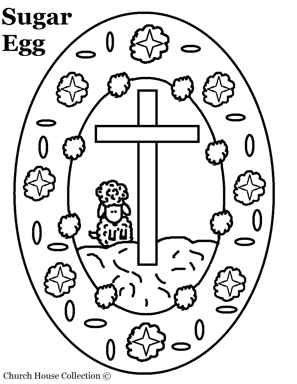 1019x1319 Christian Easter Egg Coloring Pages Egg Coloring Page Sugar Egg