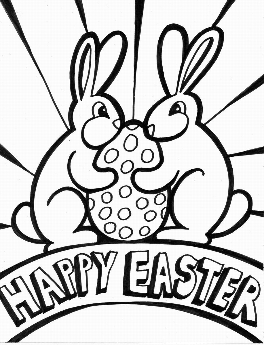 917x1200 Easter Coloring Pages