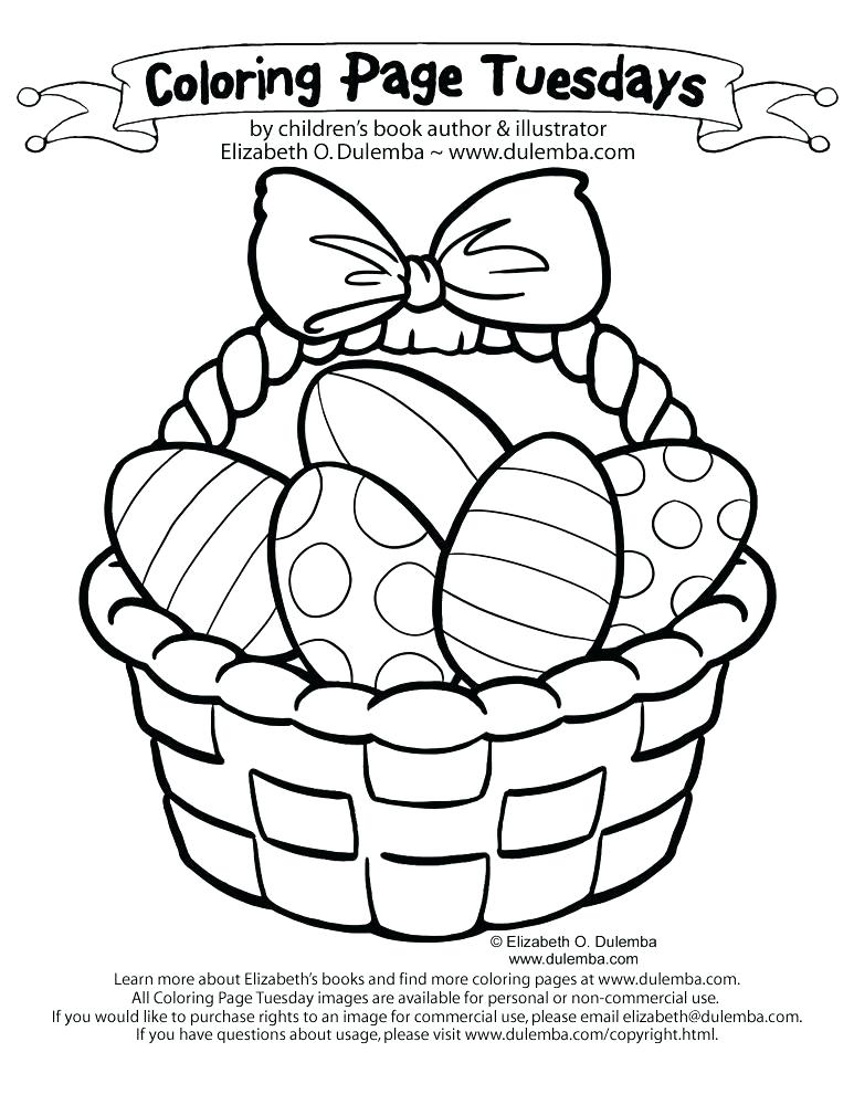 773x1000 Easter Basket Coloring Pages Coloring Page Basket Basket Coloring