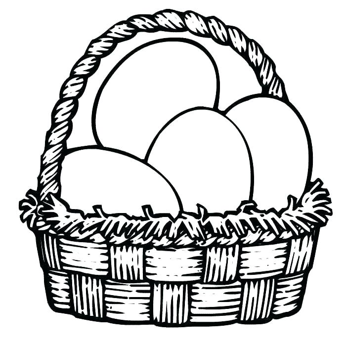 700x700 Egg Coloring Pages Eggs To Coloring Pages Egg Basket Colouring