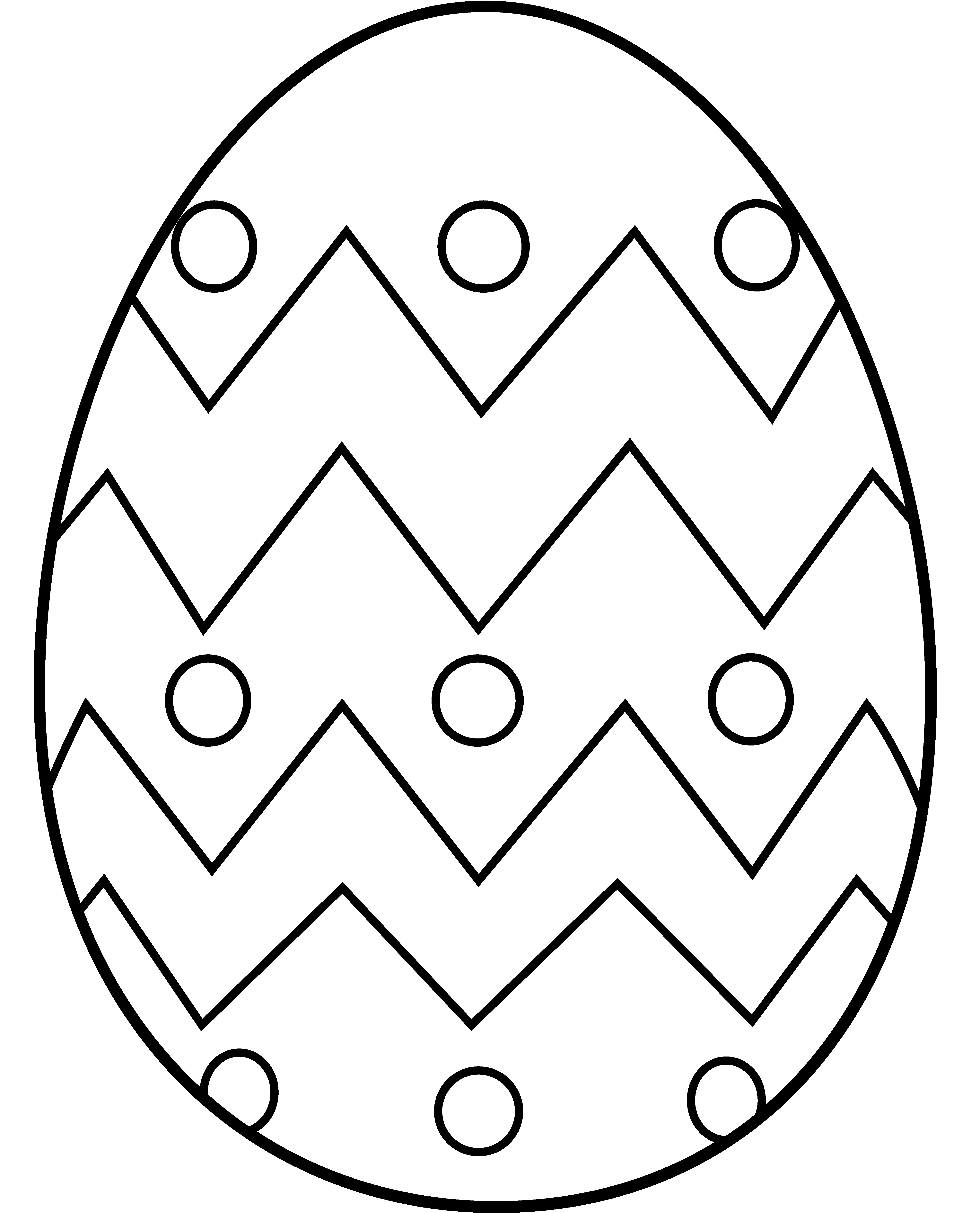 5012x6201 Egg Coloring Page Easter Eggs Pages For Kids Elegant