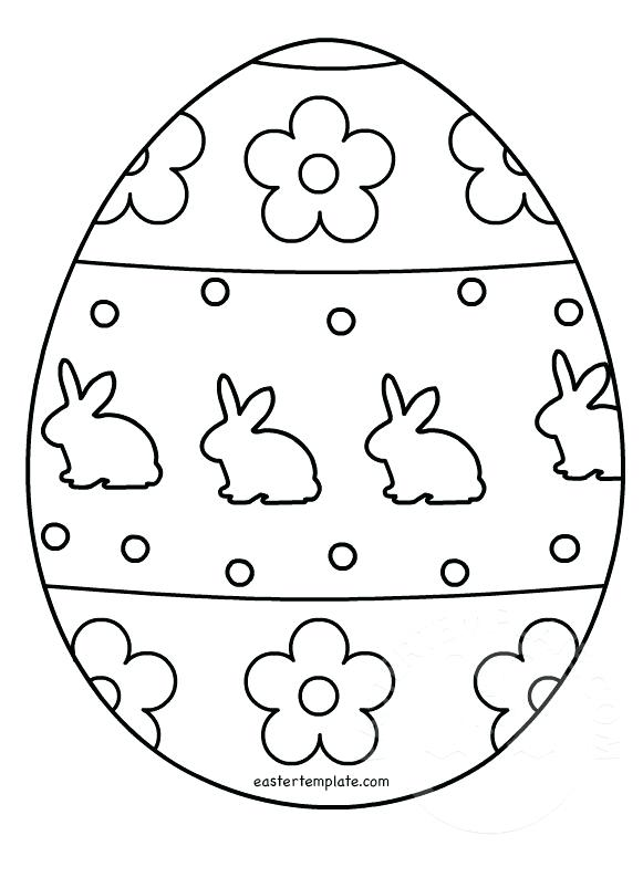 581x803 Egg Colouring Page Template Coloring Page Easter Egg Egg Colouring