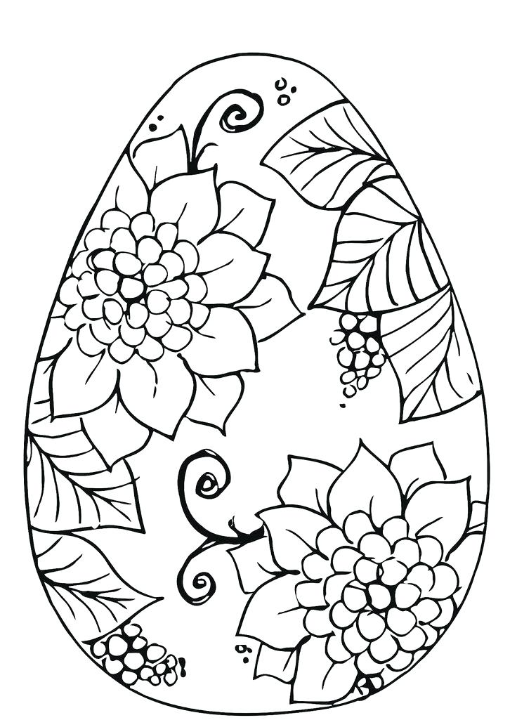 736x1025 Happy Easter Coloring Pages Icontent