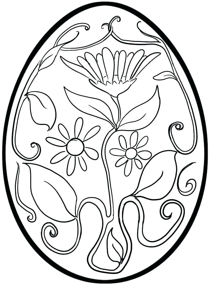 736x1001 Coloring Pages Of Easter Eggs Idea Coloring Pages For Easter
