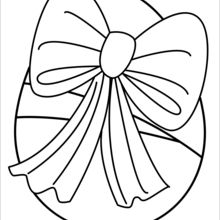 220x220 Easter Egg Coloring Pages