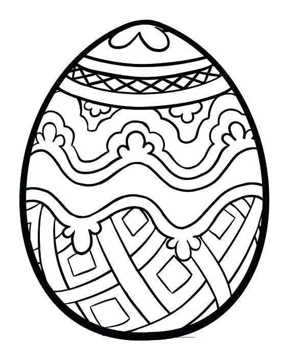 570x706 Easter Egg Coloring Sheets Free Printable Unique Spring Holiday