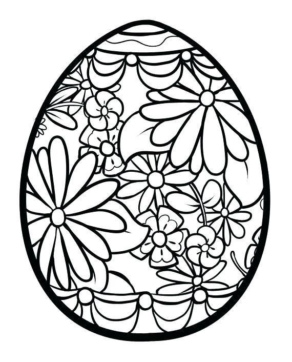 570x706 Egg Coloring Page Hearts Egg Coloring Pages Easter Egg Colouring