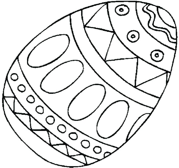 702x659 Amazing Easter Egg Coloring Pages Free Printable And Extremely