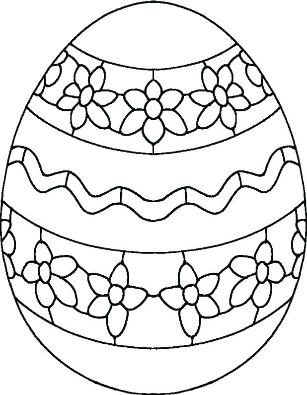 618x795 Coloring Pages Of Easter Eggs Printable Egg Coloring Pages Free