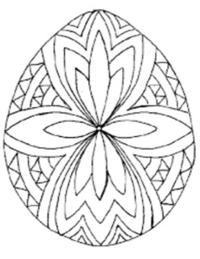 290x375 Easter Empty Easter Basket, Easter Basket Coloring Page