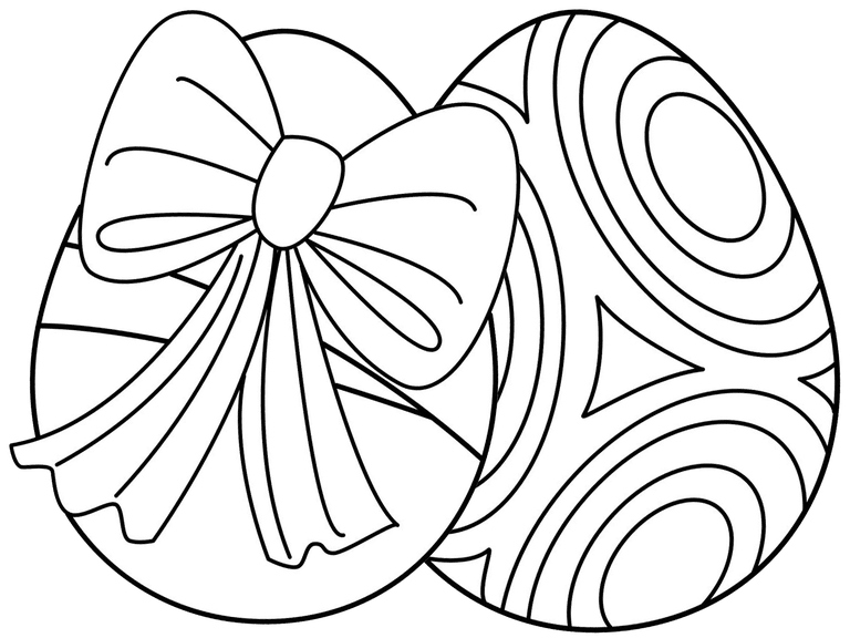 768x576 Easter Egg Coloring Pages Lovely Duck Is Easter Eggs Coloring Page