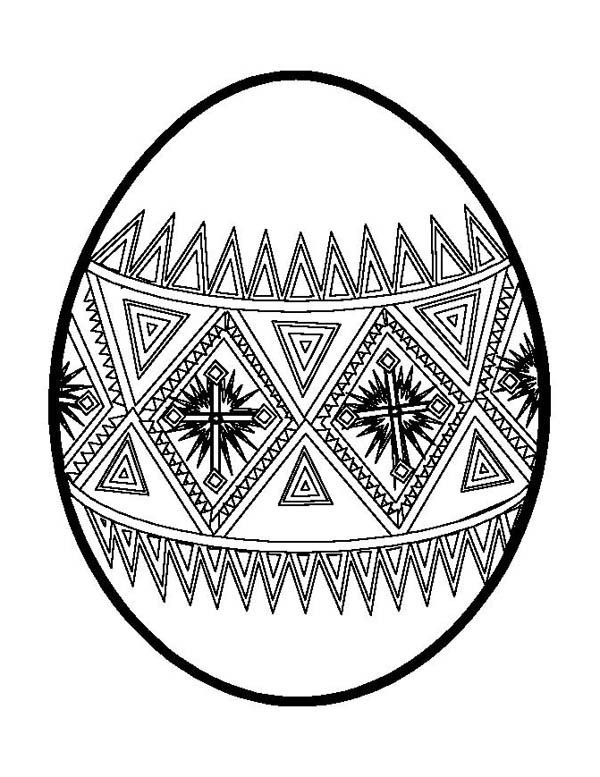 600x777 Easter Egg Designs Coloring Pages New Easter Eggs Drawing