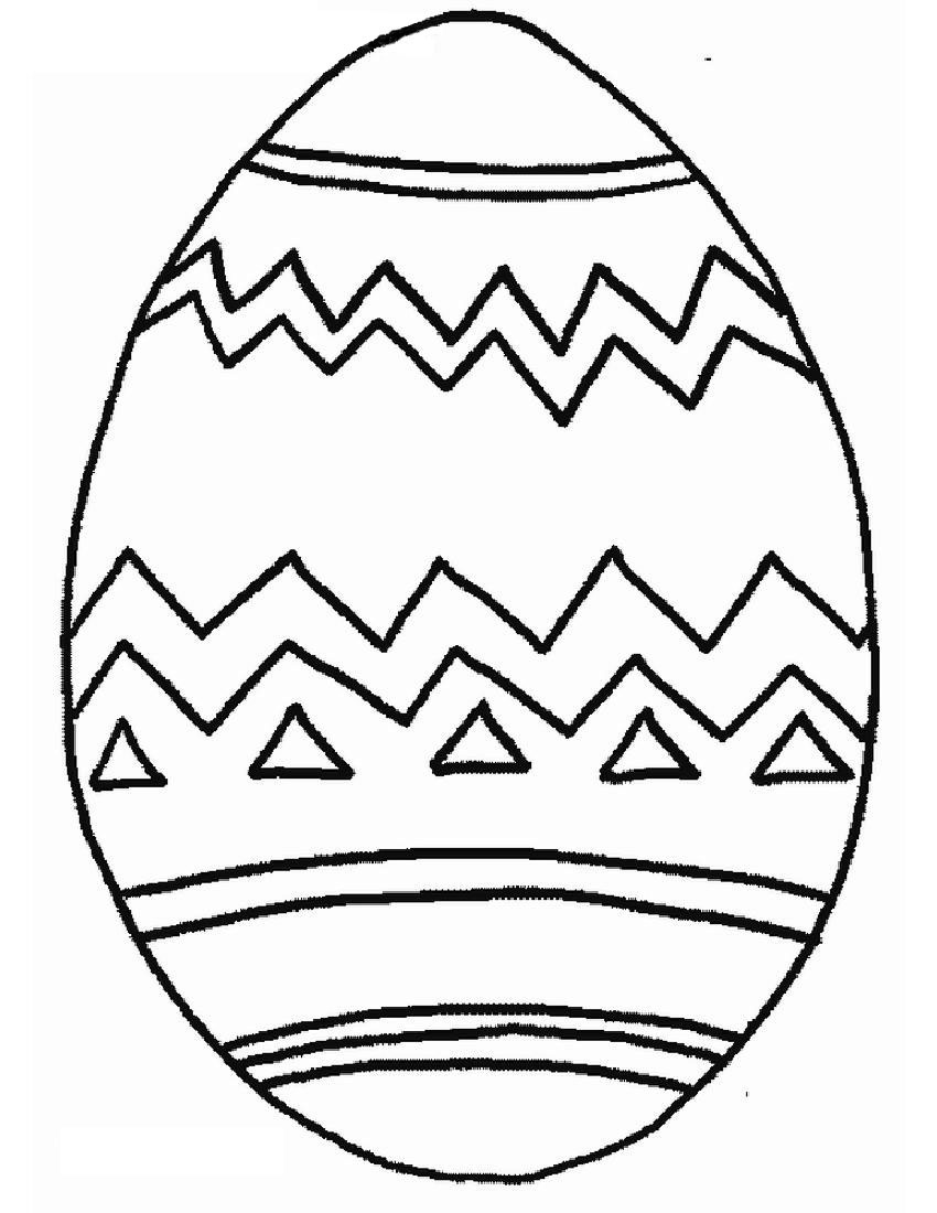 850x1100 Easter Pages To Color Coloring Pages