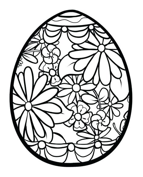 474x586 Coloring Pages Easter Eggs Coloring Pages Eggs Colouring Page Easy
