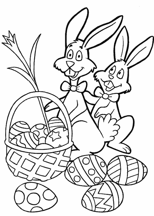 500x700 Free Printable Easter Coloring Pages