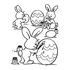 230x230 Top Free Printable Easter Egg Coloring Pages Online