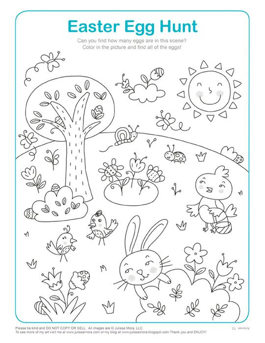 540x700 Coloring Sheets For Kids Easter Egg Hunt Easter Egg Hunt