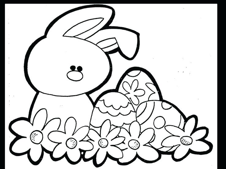 Easter Flowers Coloring Pages