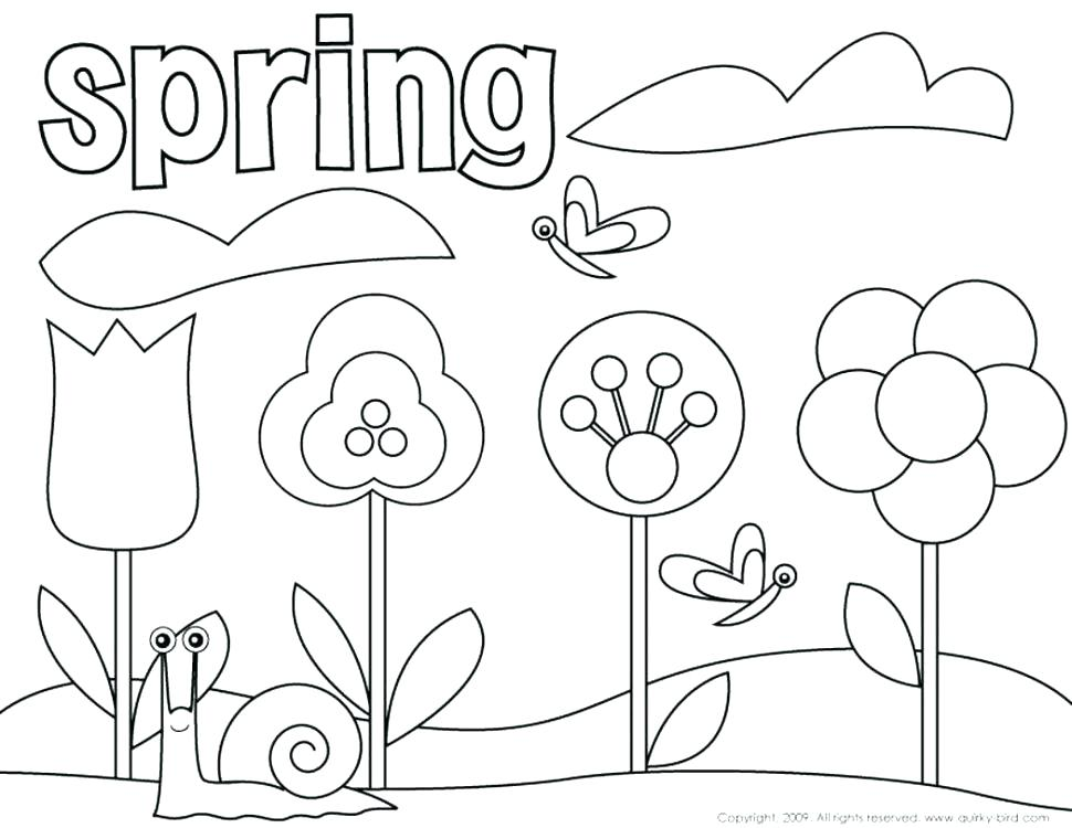 970x750 Easter Flower Coloring Pages Coloring Pages Free Coloring Sheets