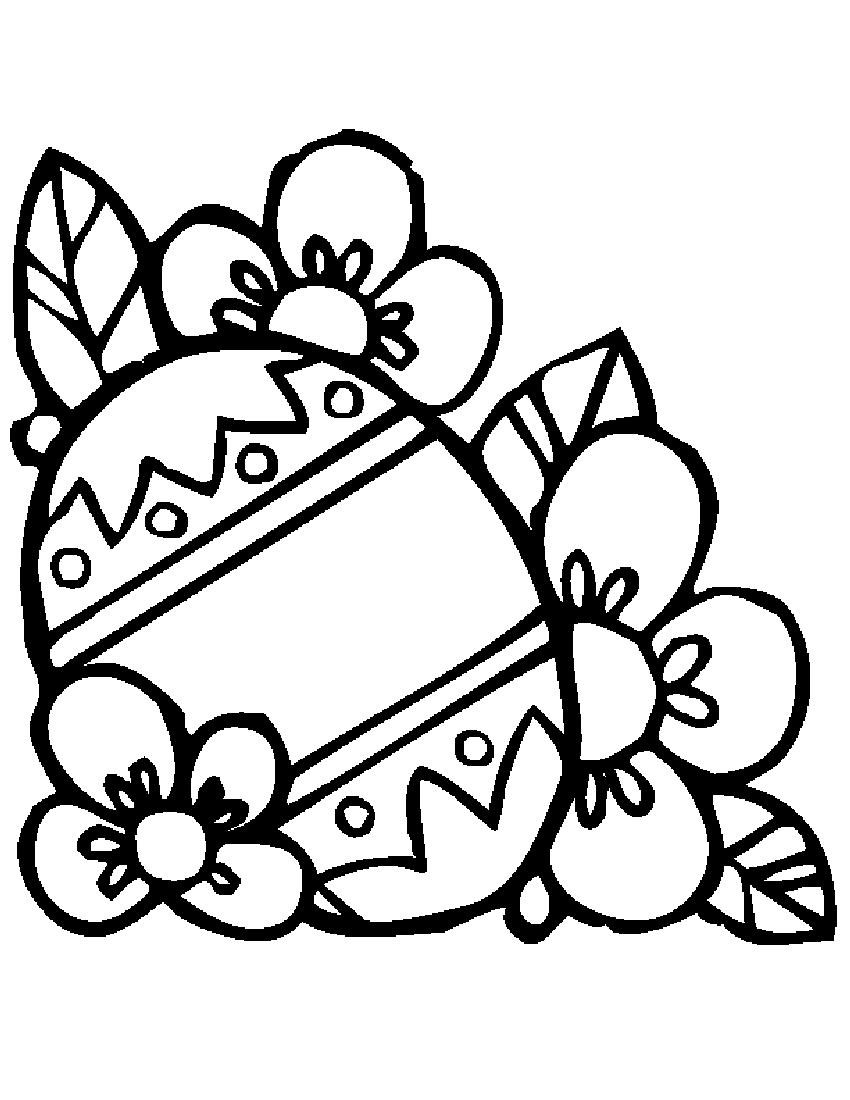 850x1100 Easter Flowers Coloring Page Free Printable Pages For Flower