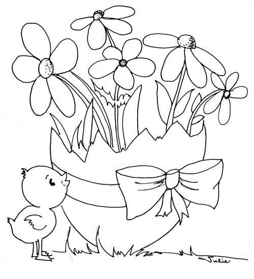 500x549 If You Want To Print The Printable Easter Coloring Pages For Kids
