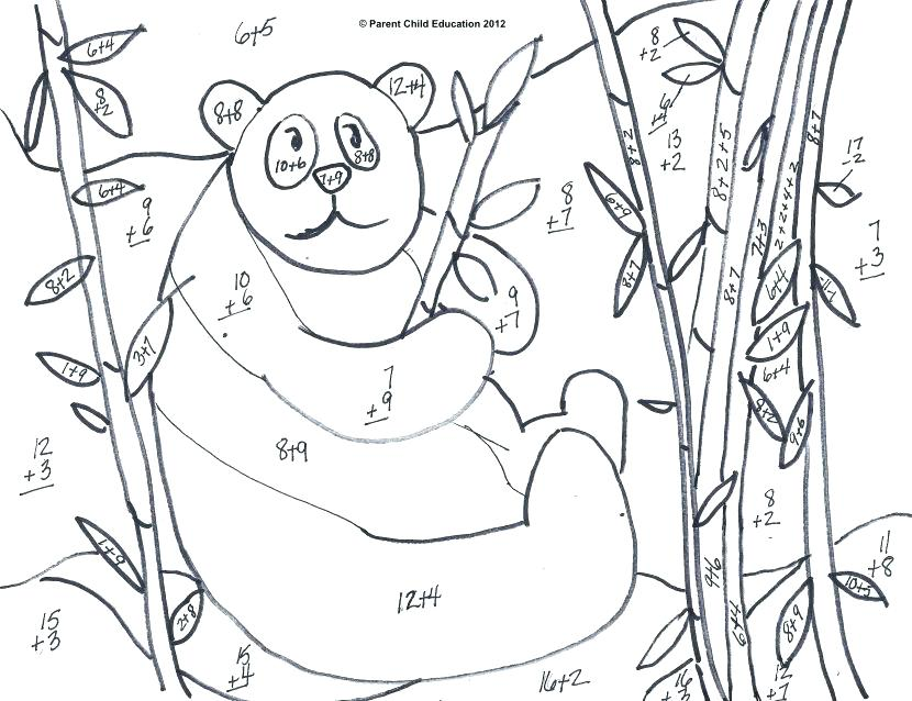 830x638 Addition Coloring Pages Addition Coloring Page Addition Coloring
