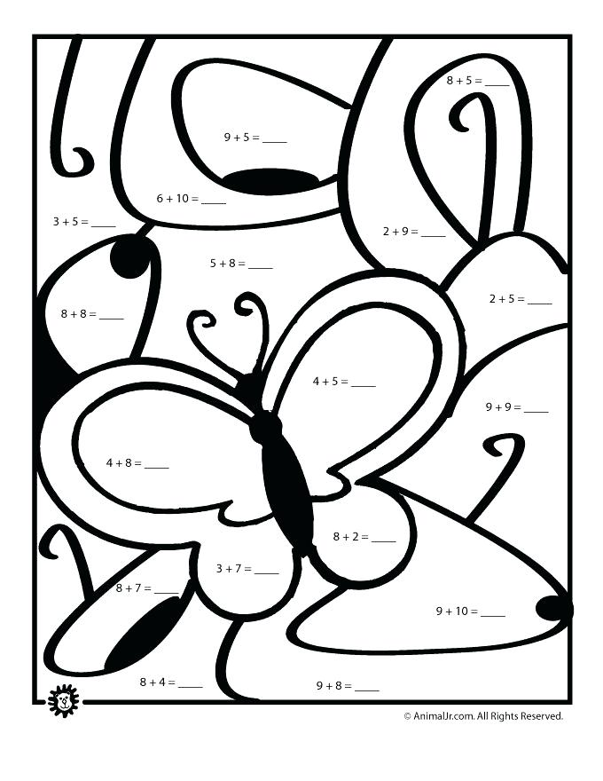 680x880 Addition Coloring Pages