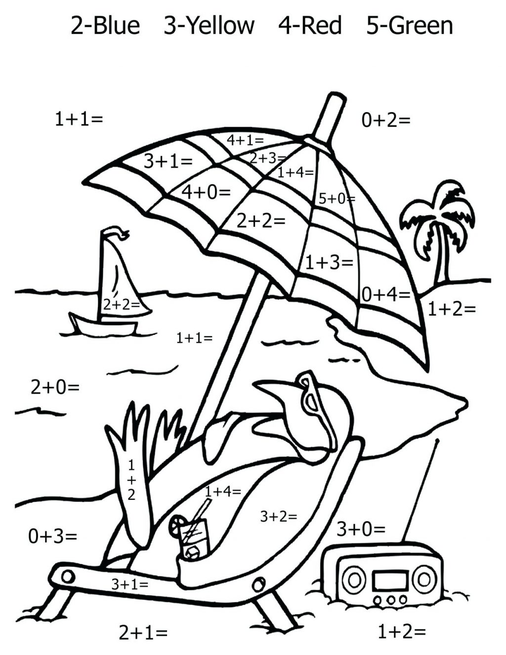 1024x1326 Coloring Page Addition Coloring Pages Math Worksheet First Grade