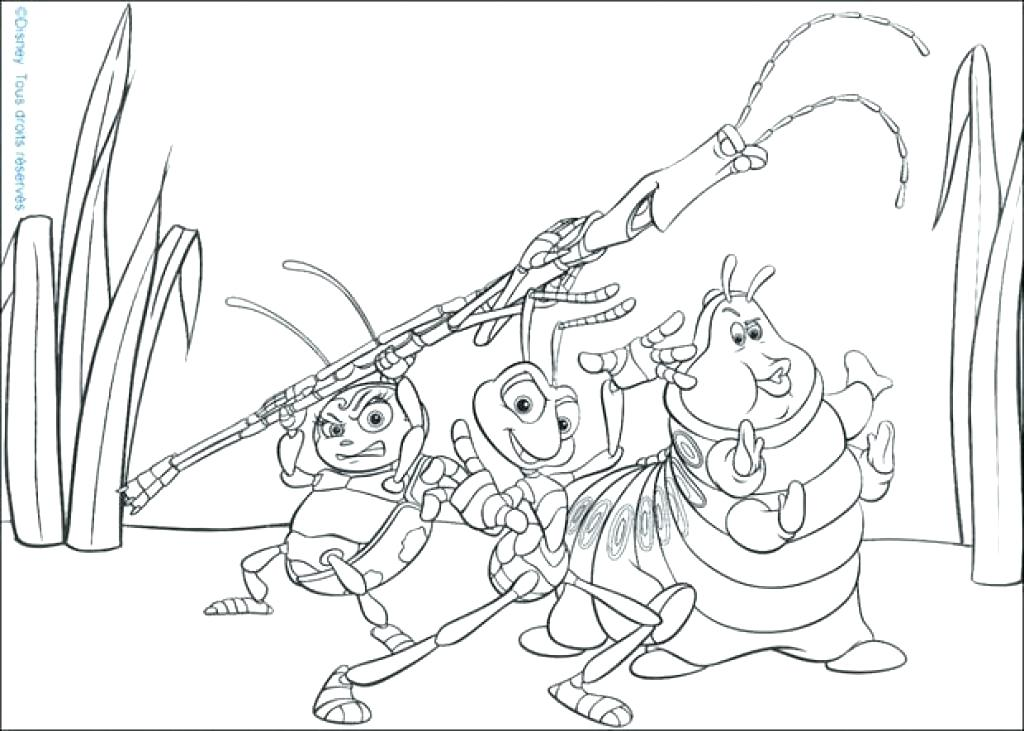 1024x731 Addition Coloring Pages Addition Coloring Pages A Bugs Life