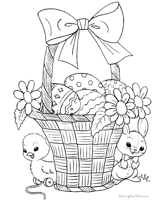 564x690 Easter Online Coloring Pages Egg Template In Color Online Coloring