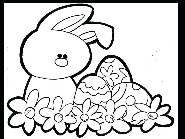 736x552 Easter Coloring Book