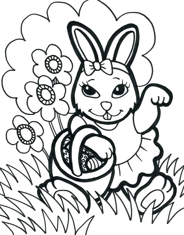 600x766 Coloring Pages Bunny Share Bunny Coloring Pages Online Coloring