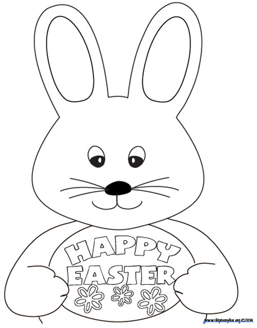 500x638 Free Easter Coloring Page Skip To My Lou