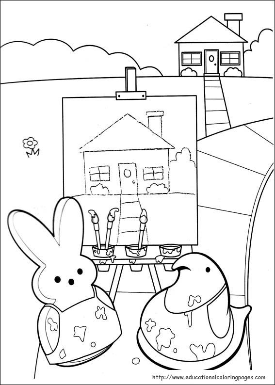 567x794 Peeps Coloring Pages Selection Free Coloring Pages