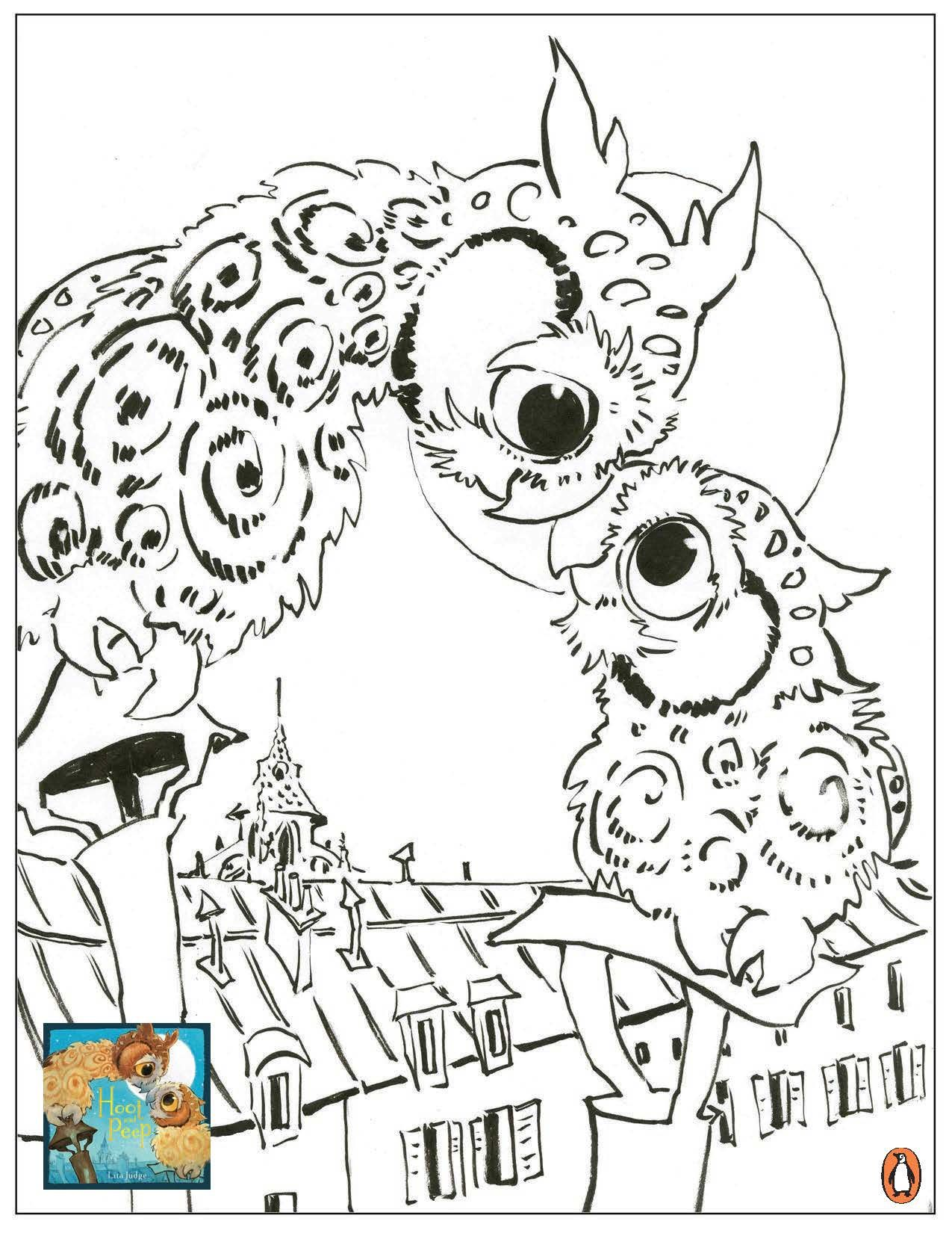 1275x1650 Profitable Peep Coloring Pages Hoot And Printa