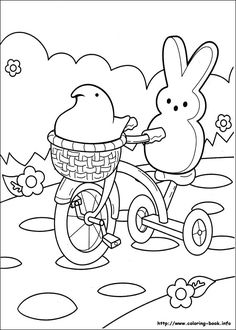 236x330 Peeps Coloring Pages Marshmallow Peeps Coloring Pages