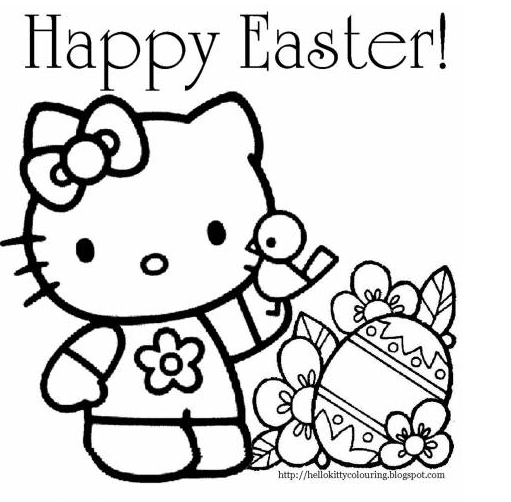 511x502 Easter Coloring Pages