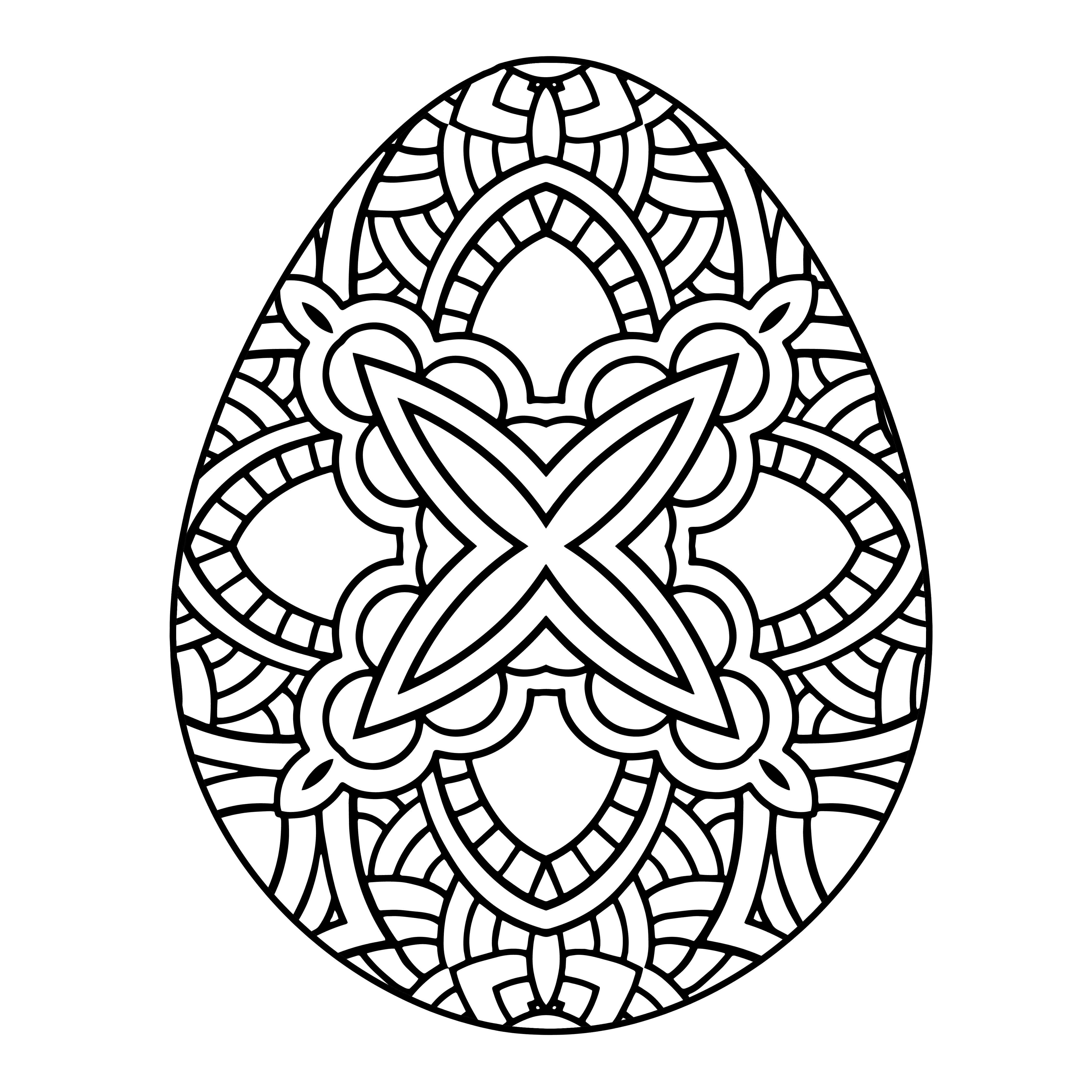 4500x4500 Adult Easter Coloring Pages