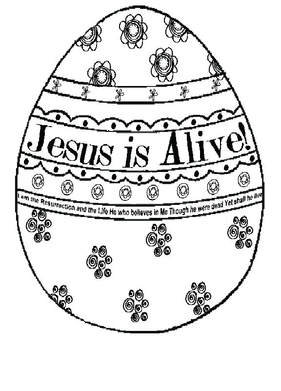Easter Printable Coloring Pages Religious At GetDrawings Free Download