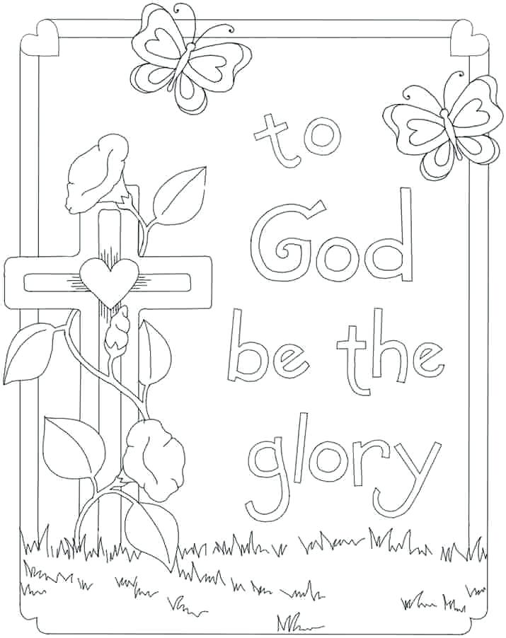 715x902 Happy Easter Coloring Pages Printable Coloring Pages Religious